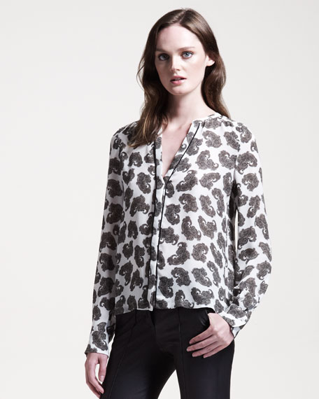 Marianne Paisley Blouse