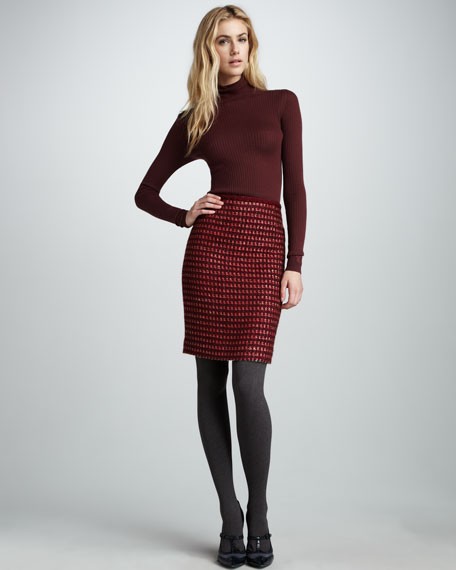 Victory Tweed Skirt