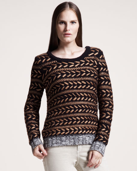 Lisbeth Striped Sweater