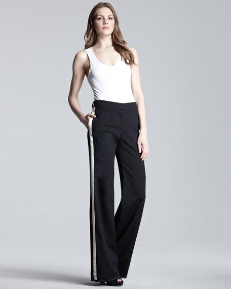 Side-Stripe Trousers