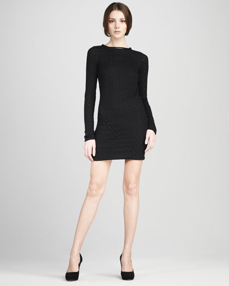 Kivel Ladder-Lace Dress