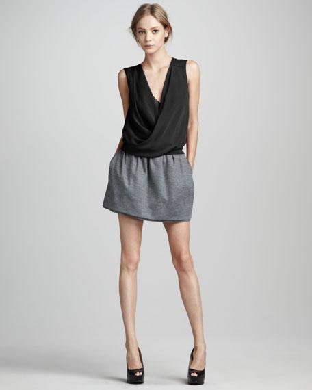 Addie Jersey Miniskirt