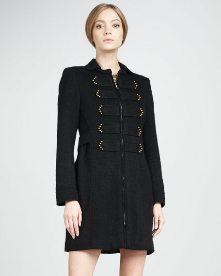 Lord & Lady Knit Coat, Black