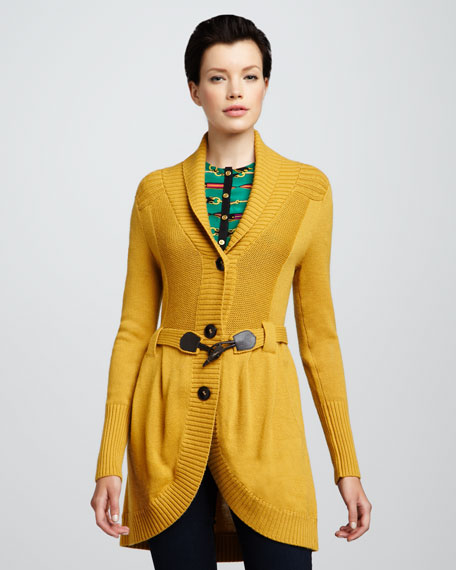 Over The Fence Sweater Coat