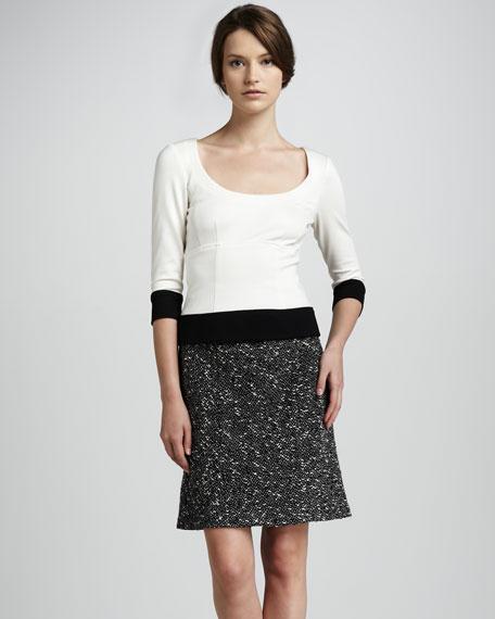 Estate Tweed Skirt