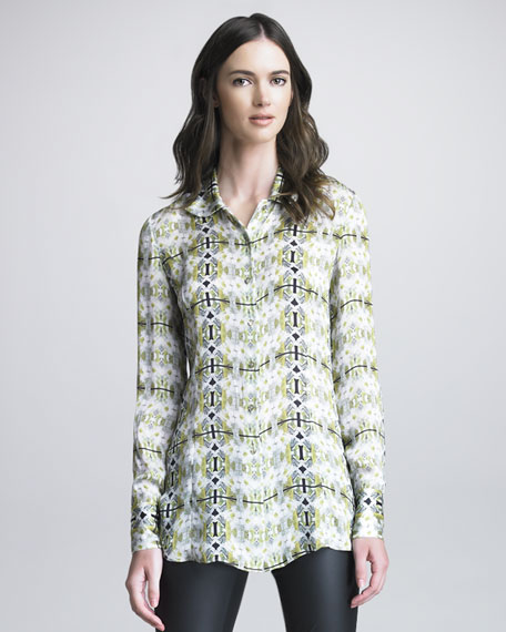 Bross Printed Blouse