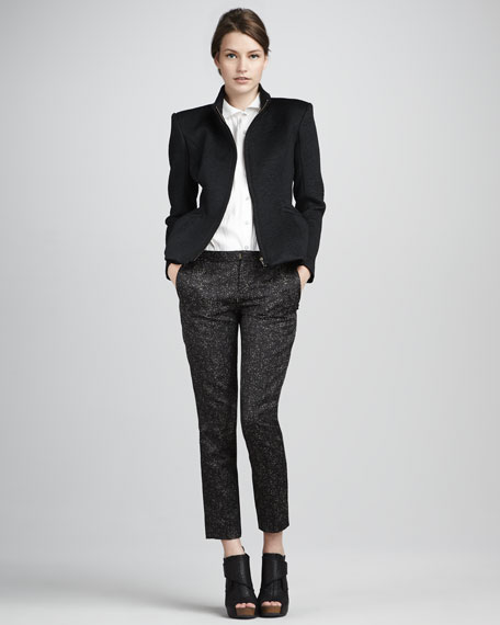 Padgette Sparkly Tweed Pants