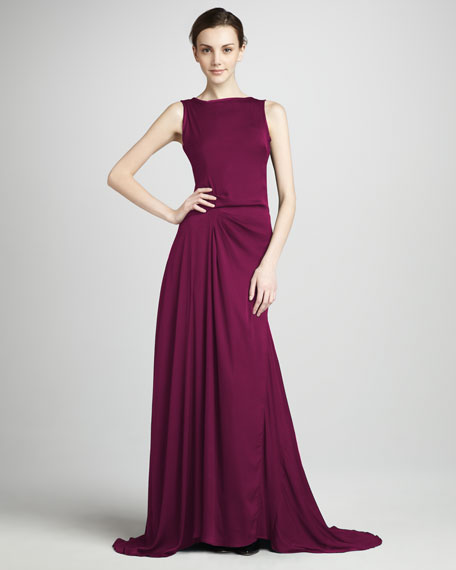 Gathered Gown