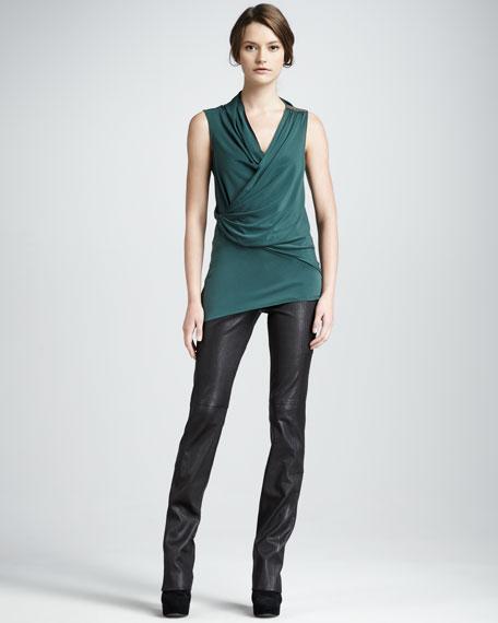 Leather Pants, Black