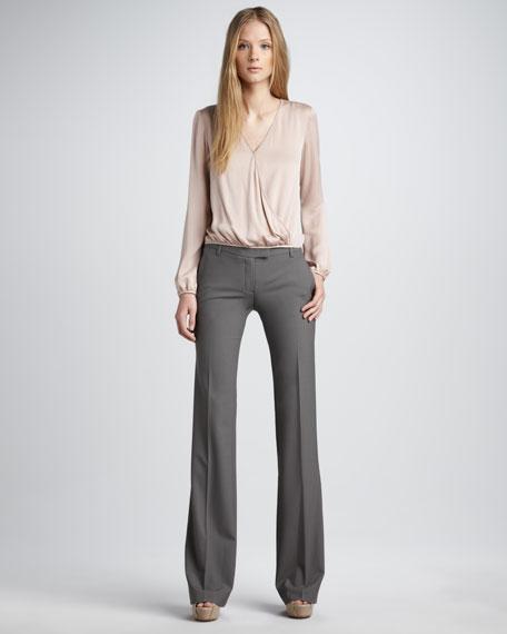 Stretch-Wool Pants