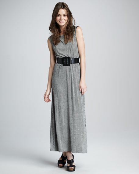 Luca Silk Maxi Dress