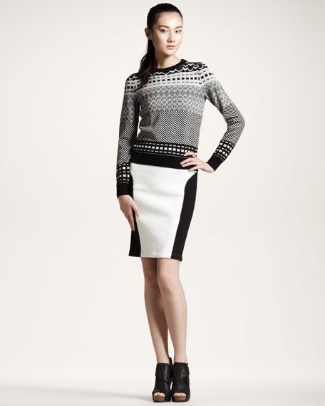 Fair Isle Jacquard Sweater