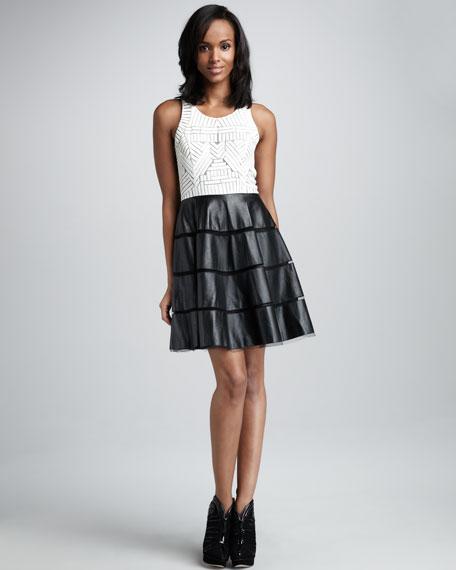 Walker Combo Dress