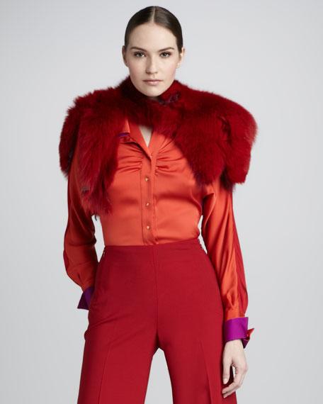 Isabelle Fur Wrap