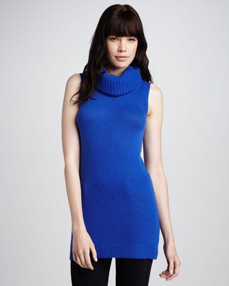 Cashmere Turtleneck, Blue