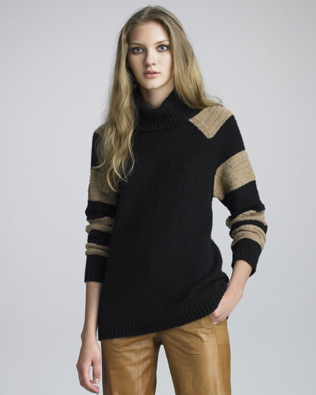 Striped Blocked Sweater