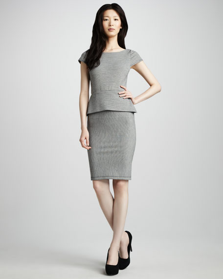 Beth-Ann Peplum Dress