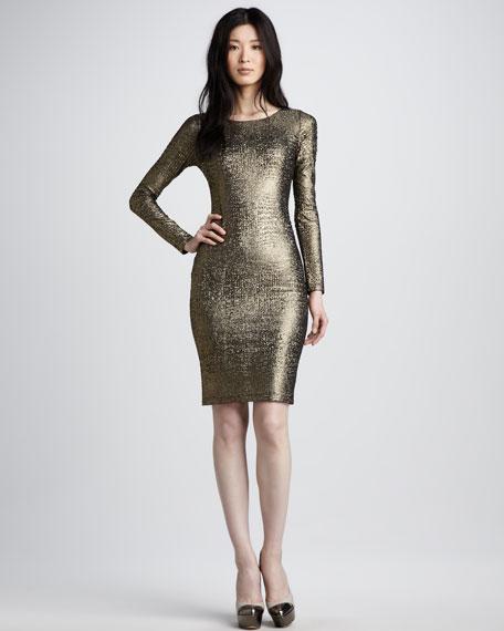 Selma Mesh-Back Dress