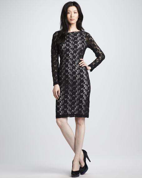 Dandi Open-Back Lace Dress
