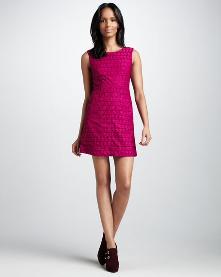 Capreena Paisley-Lace Dress