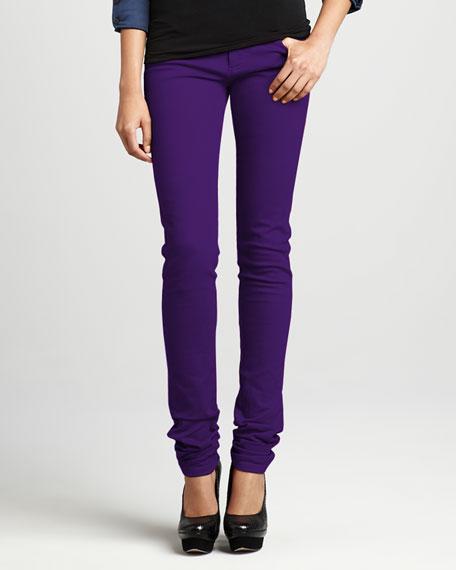 Skinny Jeans, Purple