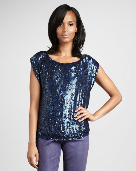 Bryant Sequined Top
