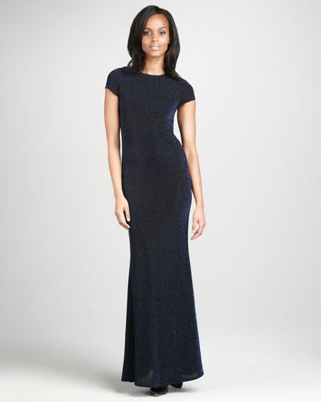 Lanie Open-Back Gown