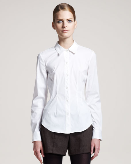 Stretch-Cotton Shirt