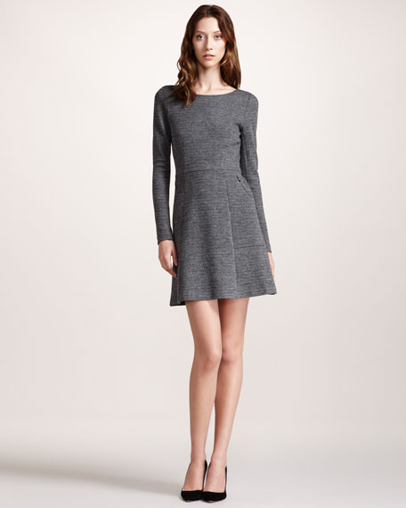 Heather Fit-and-Flare Dress