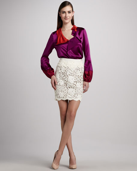 Bennet Lace Skirt
