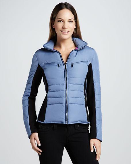 Demsy Colorblock Puffer Jacket