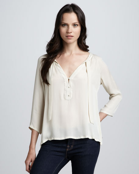 Russa Silk Top