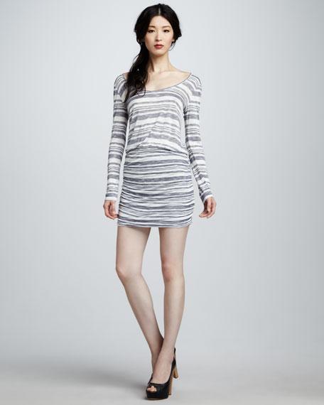 Loganberry Striped Dress