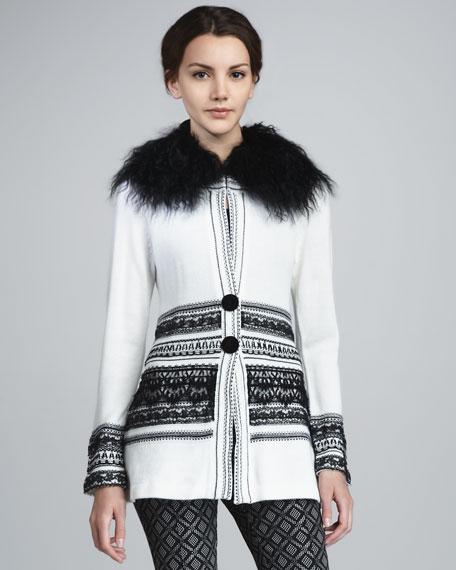 Rosie Fur-Collar Sweater