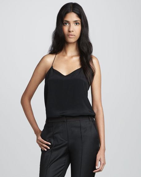 V-Neck Silk Camisole