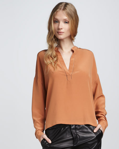 Perforated Blouse