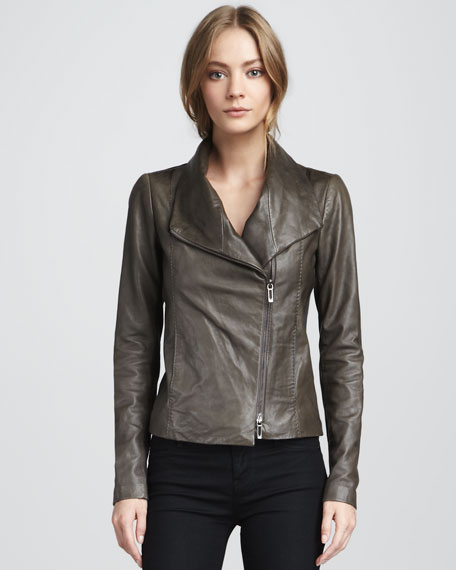 Leather Jacket, Ash