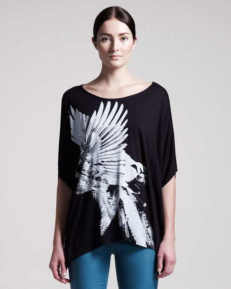 Bird Collage Wide Tee