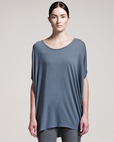 Feather Oversized Jersey Tee