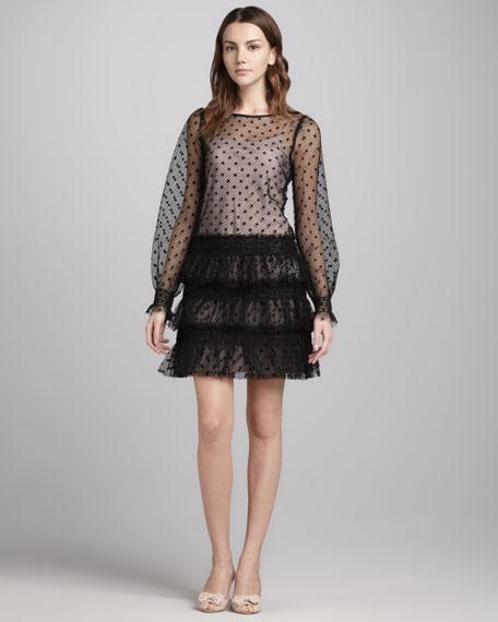 Swiss Dot Tulle Dress