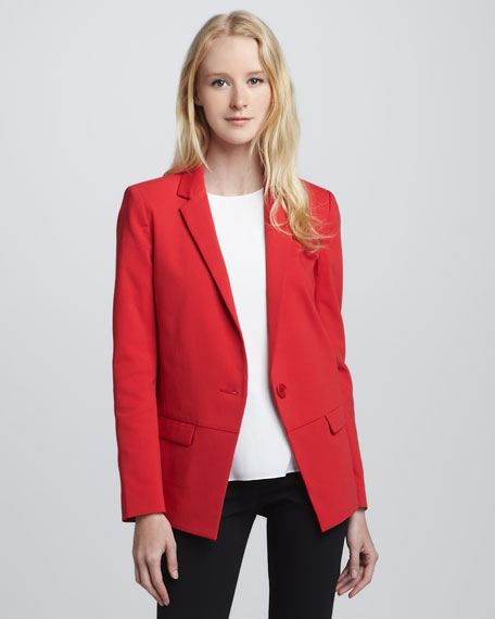 Single-Button Jacket
