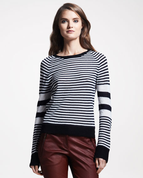 Cayden Striped Sweater