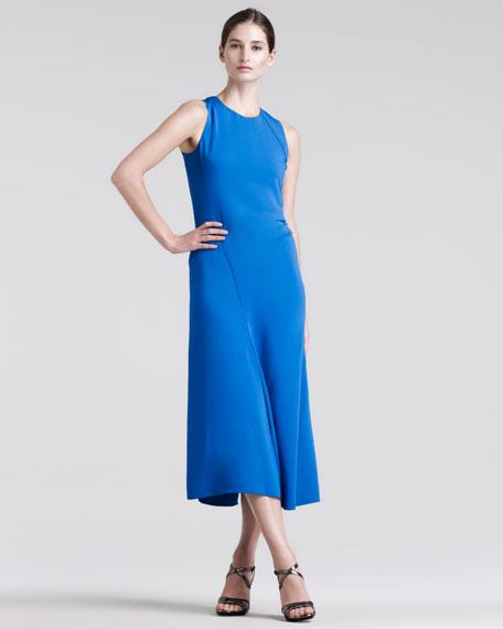 Matte Viscose Dress
