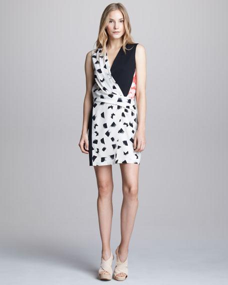 Jamie Sleeveless Wrap Dress