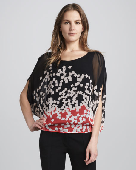 Robyn Slit-Sleeve Top