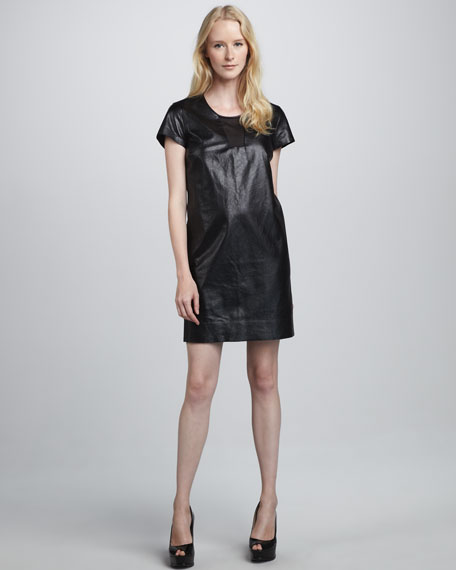 Medya Leather Dress