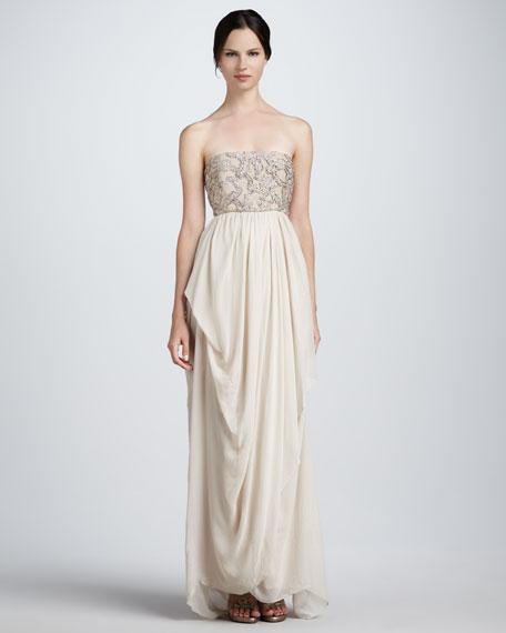 Bess Strapless Gown