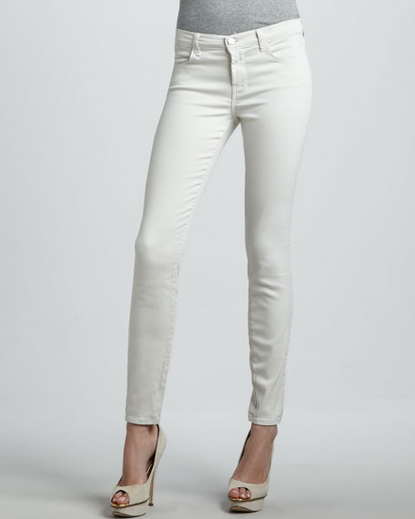 620 Stone Mid-Rise Super Skinny Jeans
