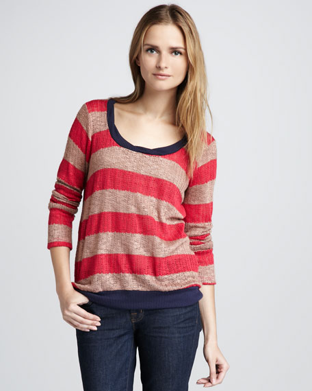 Bristol Striped Sweater