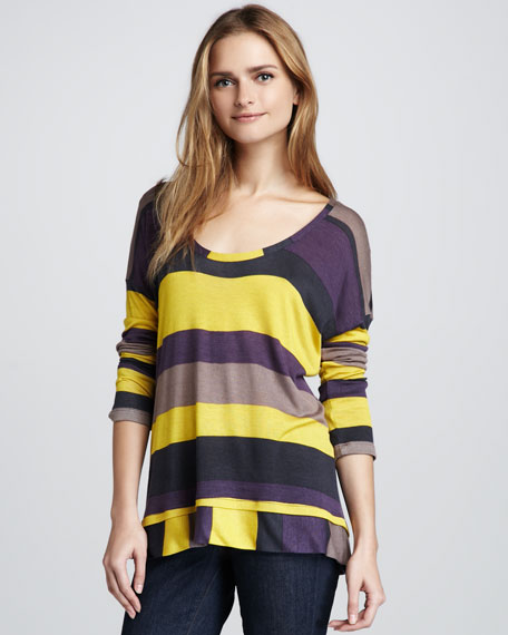 Barca Striped Top